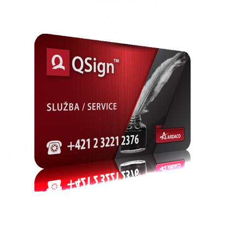 QSign - Voľná licencia