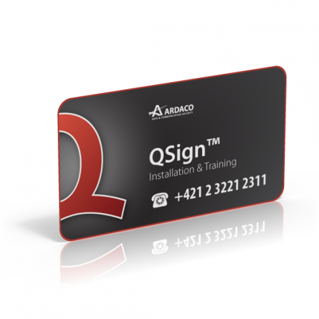 QSign Inštalácia a školenie